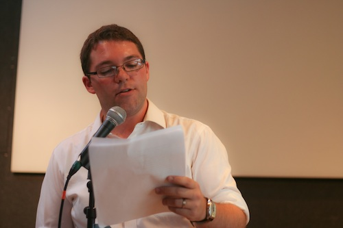Daniel Evans Pritchard reads some poems.