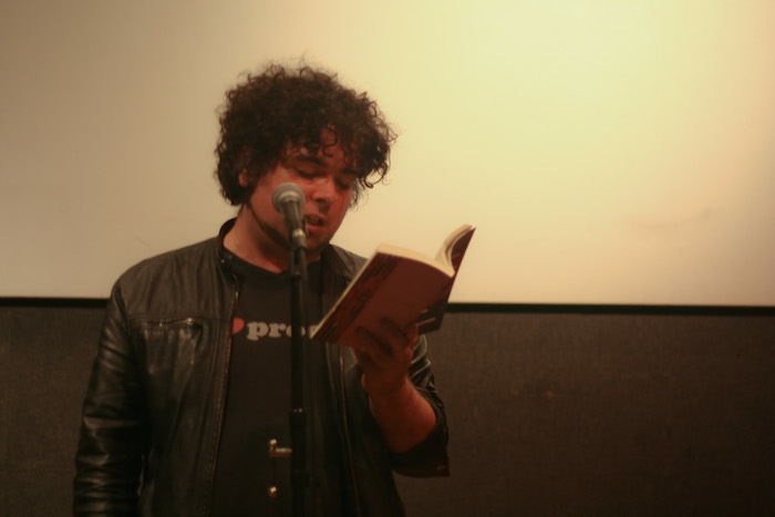 Dolan Morgan reads from THAT'S WHEN THE KNIVES COME DOWN.